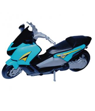 Mini Moto Scott Verde Água - BS Toys